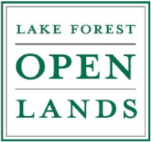 open lands logo screen capture